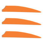 "Norway 3"" Fusion Vanes - 50 Pack (Orange)"