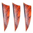 "Muddy Buck Gear 2"" RW Shield Cut Feathers - 36 Pack (Camo Orange)"