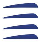"""Norway 4"""" Duravanes - 50 Pack (Blue)"""