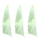 "Muddy Buck Gear 2"" RW Shield Barred Feathers - Flo Green (36 Pack)"