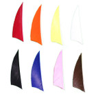 "Muddy Buck Gear 2"" RW Shield Cut Feathers - 36 Pack (Flo Yellow)"