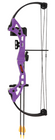 Bear Brave Youth Bow w/ Whisker Biscuit - RH (Purple)