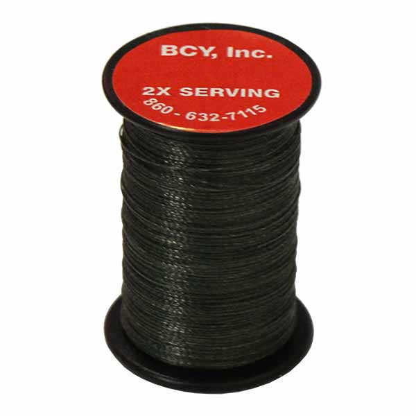 """BCY 2X End Serving .015"""" (150 yds) OD Green"""