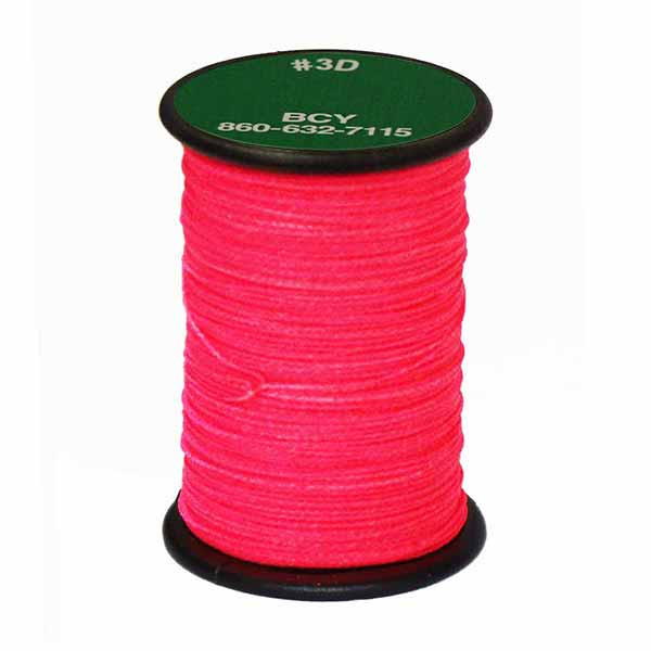 BCY 3D End Serving .017 120 Yard Jig Pink