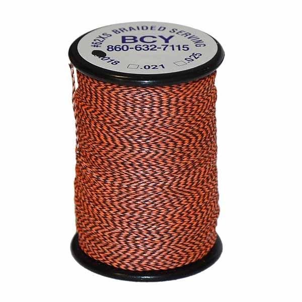 BCY No. 62 XS Braid - .018 100 Yard Jig Spool Flo Orange