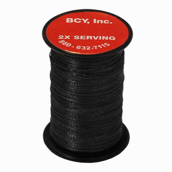BCY 2X End Serving .015 Black 150 yds