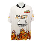 Bowhunters Supply BHSS Logo Obsession Flame Jersey - White - 3XL
