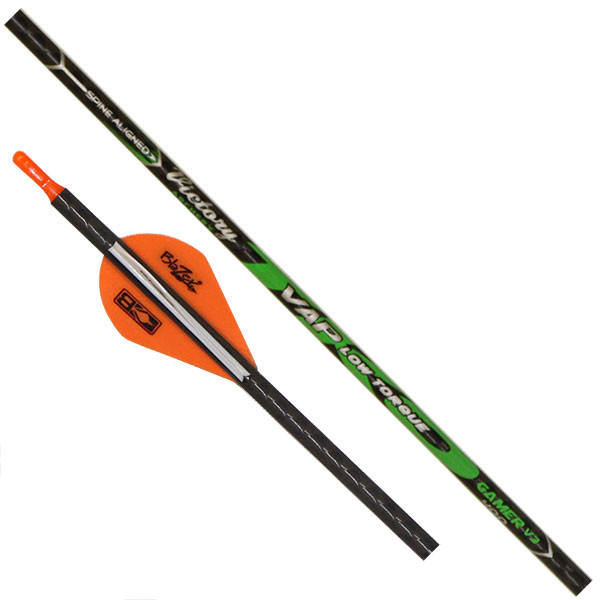 Victory VAP TKO Gamer 400 Spine Fletched - 6 Pack