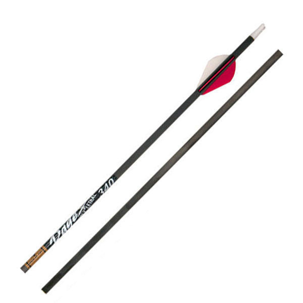 Gold Tip Hunter 340 Rage Edition Arrow 29.5in 2 Red 1 White Vanes 12PK