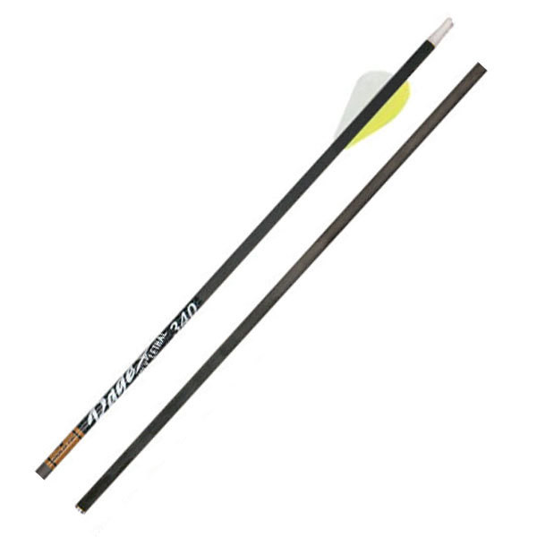 Gold Tip Hunter 340 Rage Edition Arrow 29.5in 2 Yellow 1 White Vanes 12PK