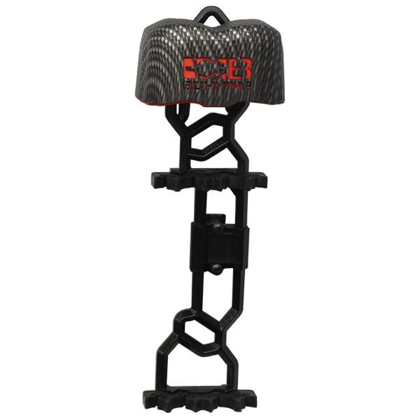 Bohning Bruin Bow Quiver Carbon Fiber Hood Red Liner