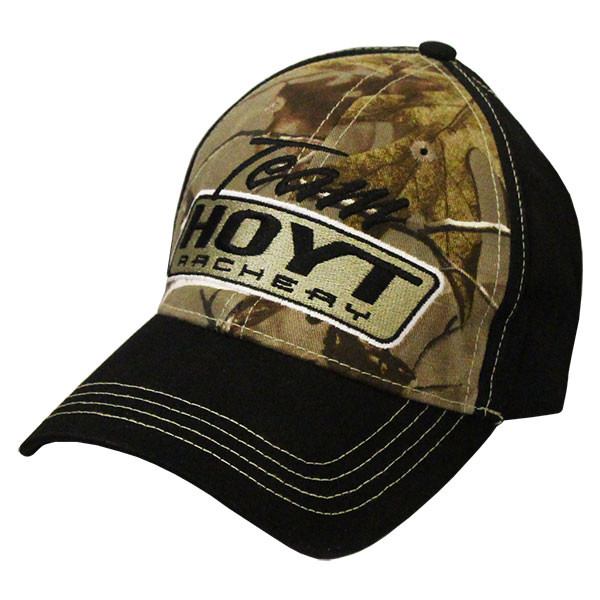 878848efcfc Hoyt Archery Camo Black Hat - Youth - Bowhunters Supply Store