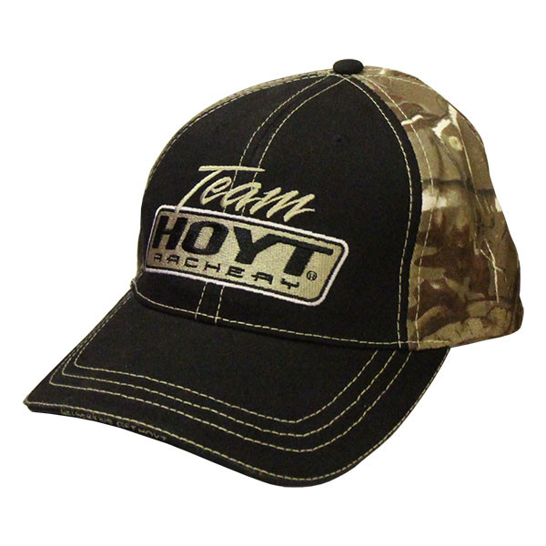 Hoyt Archery Black Camo Hat Bowhunters Supply Store