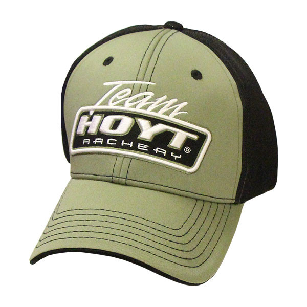 9047cd2dacb42 Hoyt Archery Army Green Black Hat - Bowhunters Supply Store