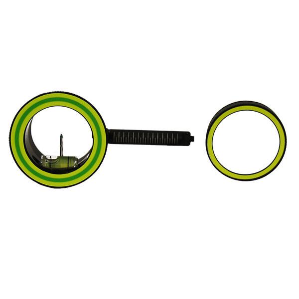 Spot Hogg Double Pin Left Hand .019 3 Ring Green