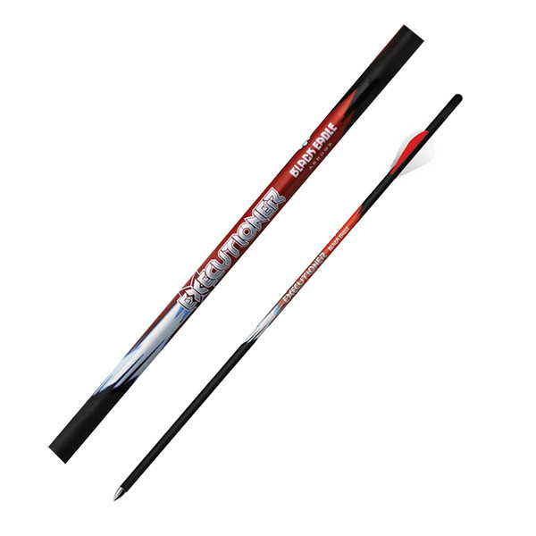 "Black Eagle Executioner Crossbow Fletched 16"" Arrows - 2"" Vanes - .001"" 6 Pack"