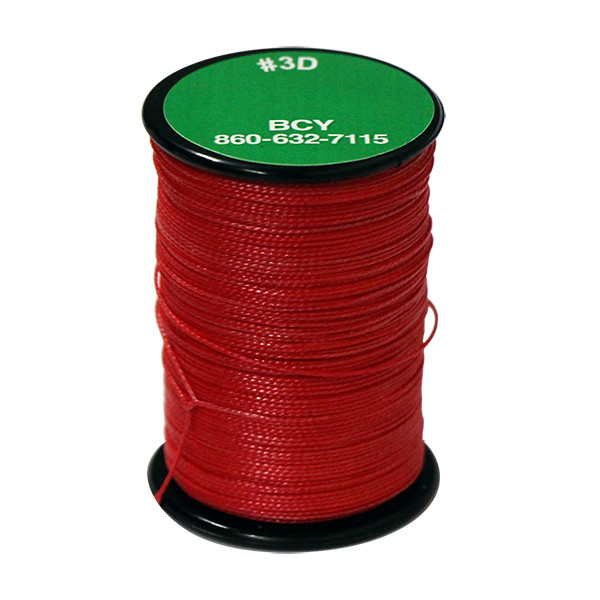 BCY Lb3D End Loop .017 120 Yard Jig Spool Red