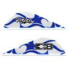 Bohning Blue Flame Blazer Vanes - 100 Pack