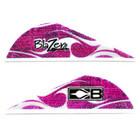 Bohning Hot Pink Flame Blazer Vanes - 12 Pack