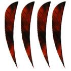 "Muddy Buck 3"" Parabolic RW Feathers - Red Camo (12 Pack)"