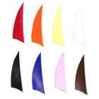 """Muddy Buck Gear 2"""" RW Shield Cut Feathers - 100 Pack (Flo Orange)"""
