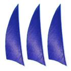 """Muddy Buck Gear 2"""" RW Shield Cut Feathers - 100 Pack (Royal Blue)"""