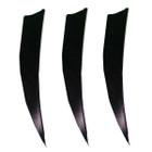 Muddy Buck Gear 5in LW Shield Cut - Black -100 Pack