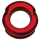 "Pine Ridge Z-38 Aluminum Peep Sight - 1/4"" Aperture (1/pkg) - Red"