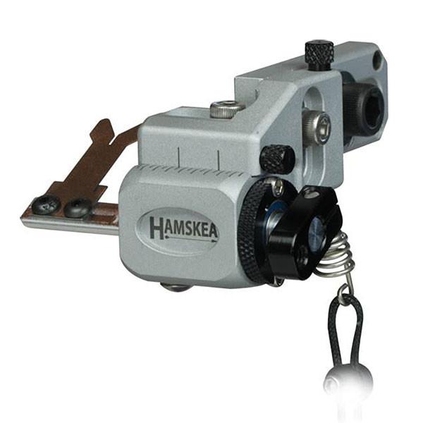 Hamskea Hybrid Target Pro Micro Arrow Rest Silver