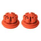 Axion Hybrid 1/2 Dampers 2 Pack Orange