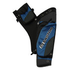 Easton Deluxe Hip Quiver Takedown w/ belt RH Blue