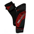 Easton Deluxe Hip Quiver Takedown w/ belt RH Red