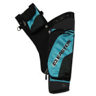 Easton Deluxe Hip Quiver Takedown w/ belt RH Teal