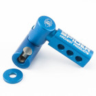 Spider Archery Side Bar Bracket Right Hand Blue