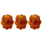 Axion Hybrid Dampers 3 Pack Orange