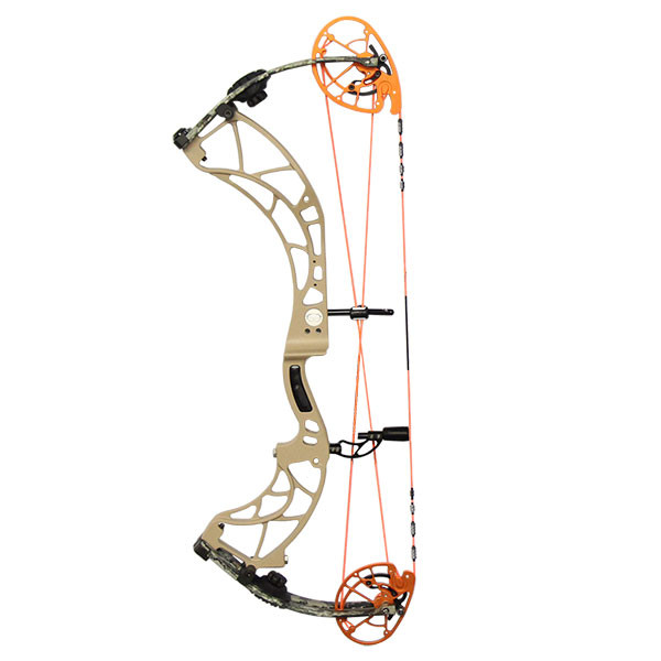 Obsession FX30 Desert Tan/Veil Cervidae RH 65lb 28in Flo Orange Cam & String