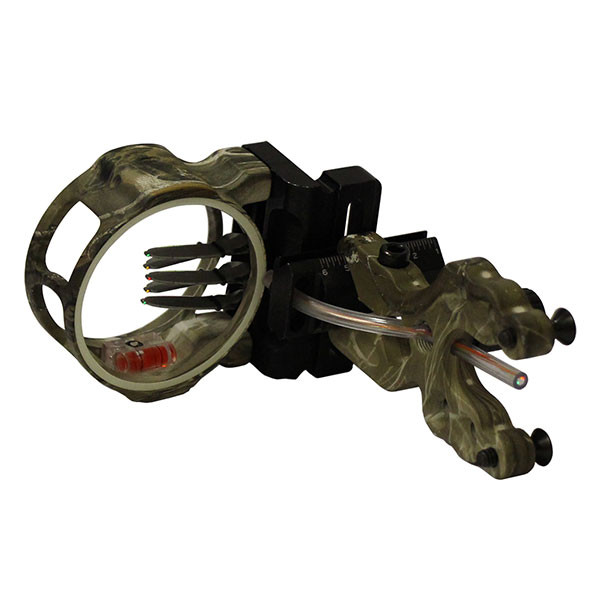 Axion Soul Hunter 5 Pin Sight .019 Fiber - RH/LH - Realtree Edge