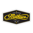 Mathews 5 in Yellow Hexagon Decal