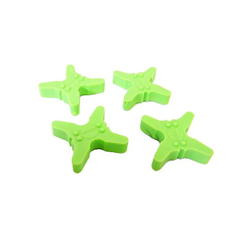 Bowjax Crossbow String Silencers Rubber Pack of 4 - Flo Green