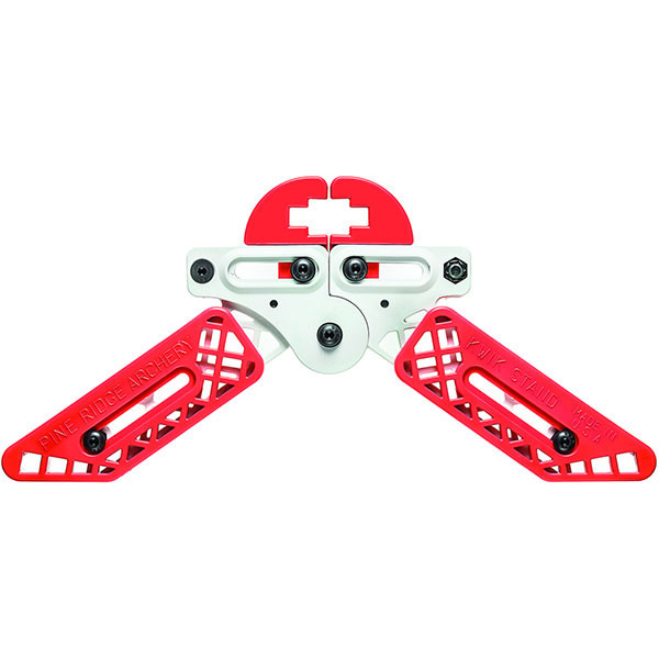 Pine Ridge Kwik Stand Bow Support - White / Red