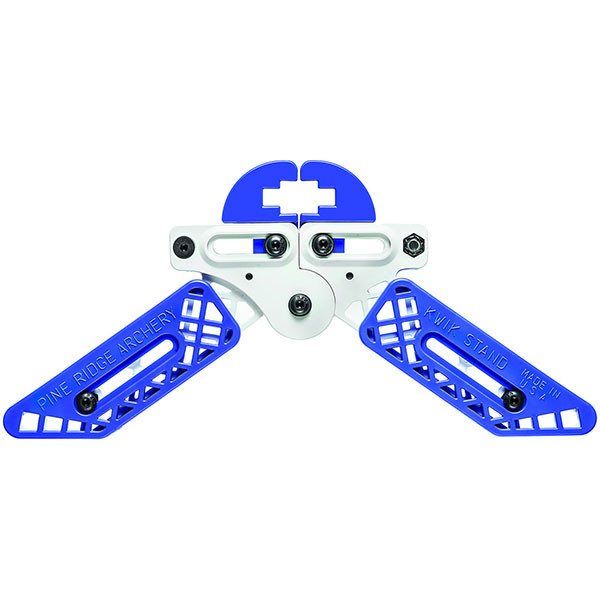 Pine Ridge Kwik Stand Bow Support - White / Blue