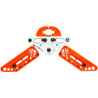 Pine Ridge Kwik Stand Bow Support - White / Orange