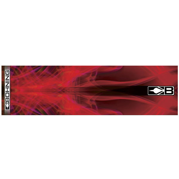 Bohning Red X-Ray HD Arrow Wrap 12pk Standard