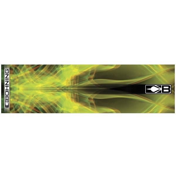 Bohning Yellow X-Ray HD Arrow Wrap 12pk Standard