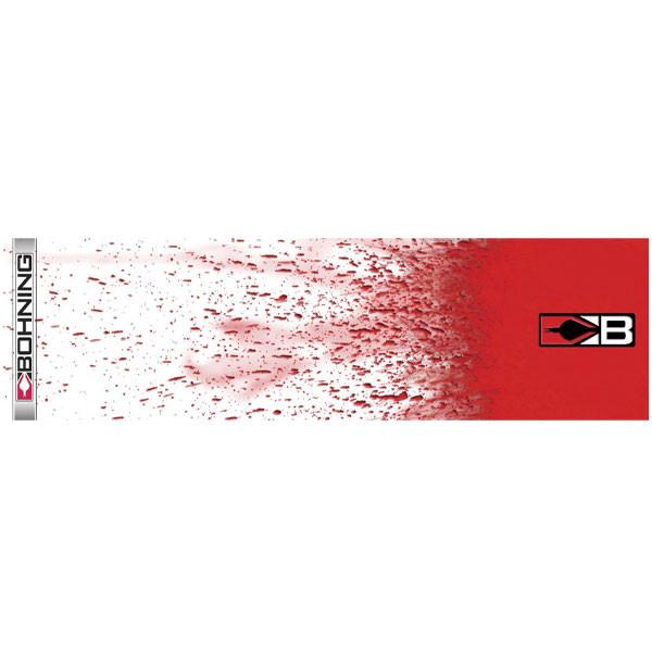 Bohning White Splatter HD Arrow Wrap 12pk Standard