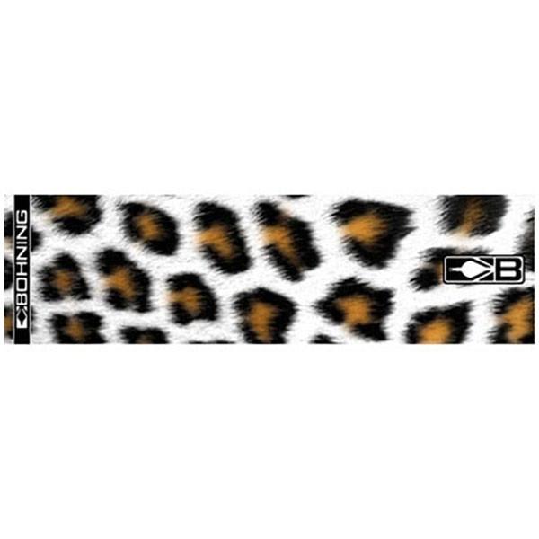 Bohning White Leopard HD Arrow Wrap 12pk Standard