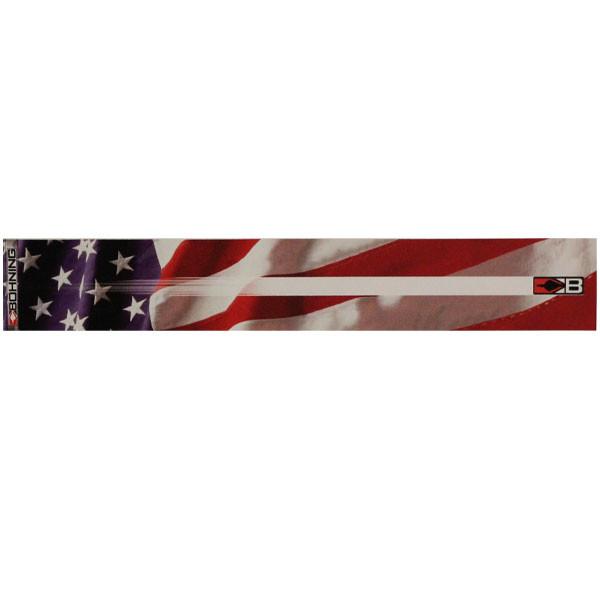 "Bohning 7"" American Flag Standard Carbon Arrow Wrap 12pk"