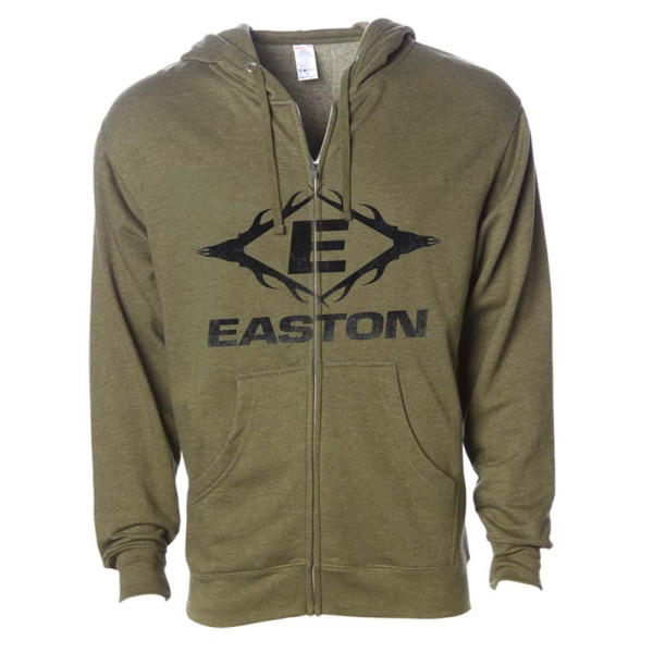 Easton Antler E Full Zip Hoodie 2XL Green
