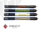 Conquest Archery - .750 Hunting Bars - Matte Black - 6""