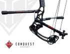 Conquest Archery - .750 Complete Hunter - 12F / 10B - Matte Black